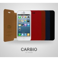 Bao da Iphone 5 Icover CARBIO Navy Case