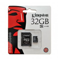 Thẻ nhớ MicroSDHC Kingston 32GB class 10 with Adapter